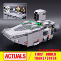 Lepin 05003 Star Wars The Force Despierta de Primer Orden Transporter Bloques de Construcción de Juguetes Marvel Compatible 75103