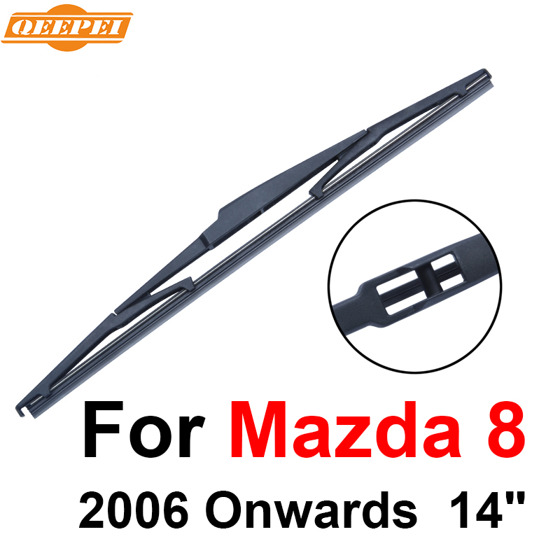 Trend Mark Qeepei Rear Wiper Blade No Arm For Mazda 8 2006 Onwards 14 4 Door Van High Quality Iso9000 Natural Rubber A1-35 Can Be Repeatedly Remolded. Auto Replacement Parts Automobiles & Motorcycles