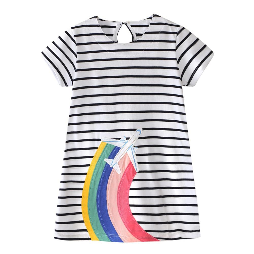 Baby Girls Sommar Enfant Princess Klänning Kostymer för Barn Kläder ... 26e61f406e9c6