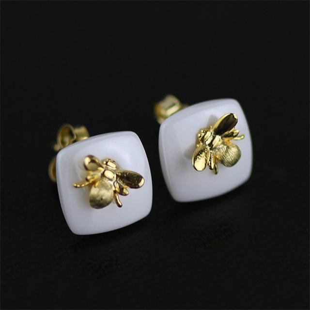 925 Sterling Silver Handmade Stud Earrings