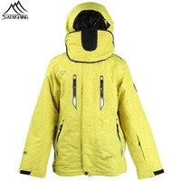 SAENSHING Yellow Winter Ski Jacket Men Super Warm Waterproof Snowboard Snow Jacket Male Outdoor Skiing And