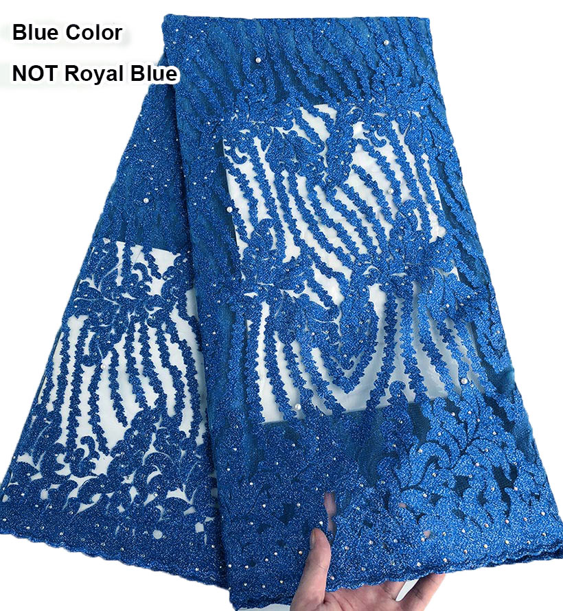 Big sale Classic original french lace African tulle lace fabric Nigerian sewing garment dress wise choice