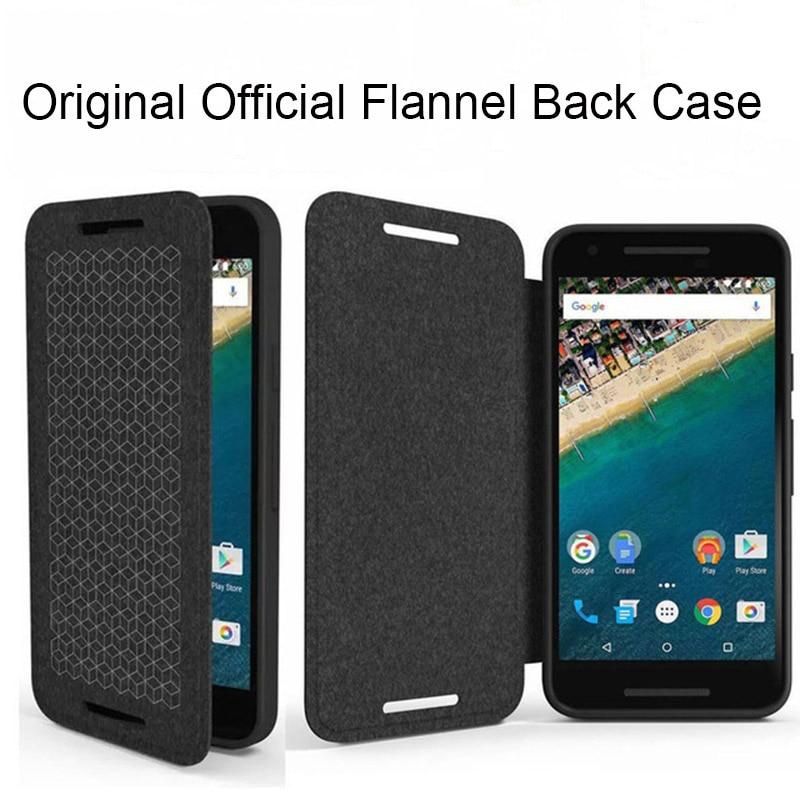 save off 243a5 50ee0 US $19.98 |Nexus5X Nexus6P Original Flip PU Leather Case For Google LG  Nexus 5X Huawei Nexus 6P Official Brand Phone Back Cover Coque Black on ...