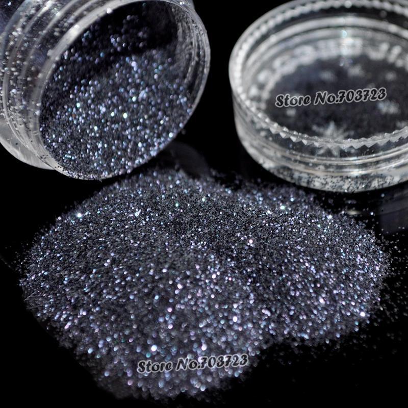 Netto Vægt 5g Pretty fascinating 0.2mm Akryl UV Nail Art Glitter - Negle kunst - Foto 2