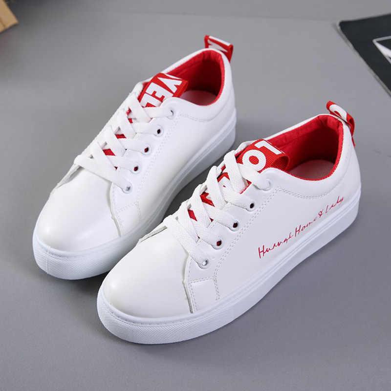 נשים לגפר נעלי נשים שטוח בד נעלי 2018 חדש קיץ לבן תלמיד לוח נעלי גבירותיי נעליים יומיומיות נקבה סניקרס