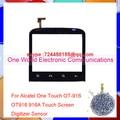 Un mundo 1 unids/lote calidad original para alcatel one touch ot-916 ot916 916a pancel pantalla táctil digitalizador del sensor envío gratis