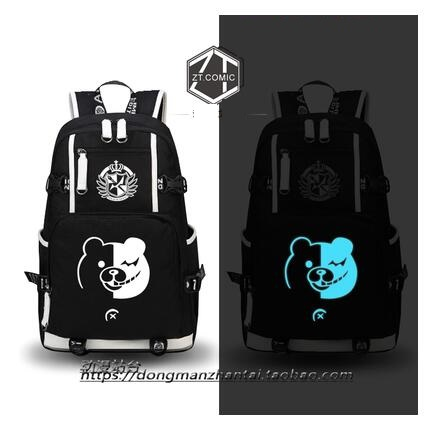 new hot sale High Q Anime danganronpa backpack UNISEX student school bag preppy style luminous backpacknew hot sale High Q Anime danganronpa backpack UNISEX student school bag preppy style luminous backpack