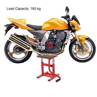 Adjustable Motocross Trails Dirt Bike Lift Stand Bikes Wide Deck Motorcycle Lift Jack Hoist Stand Bikes