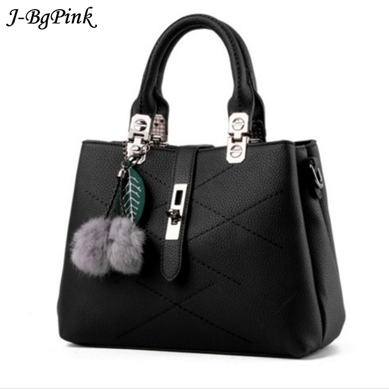 baabc8ce5140d 2019 العلامة التجارية الأزياء الفراء المرأة حقيبة حقائب النساء الشهيرة مصمم  النساء حقائب يد جلدية الفاخرة السيدات حقائب اليد الكتف كيس