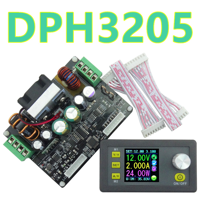 DPH3205  Constant Voltage current Programmable digital control Power Supply color LCD voltmeter Ammeter 160W