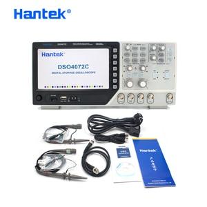 Image 5 - Hantek הרשמי DSO4072C 2 ערוץ הדיגיטלי אוסצילוסקופ 1 ערוץ שרירותי/פונקצית Waveform Generator 70MHz אבחון כלי