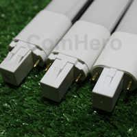 Lampada led g23 ha condotto la lampada della lampadina 4W 6w 8W 10W 220V 220V 230V 240V 110V 120V 2pin Base LED pl Bianco Caldo Naturale bianco Freddo bianco
