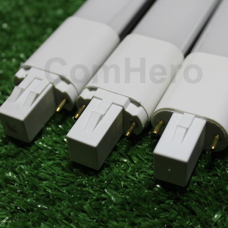 Lampada levou g23 conduziu a lâmpada do bulbo 4W 6w 8W 10W 220V 220V 230V 240V 110V 120V 2pin Base pl LED Branco Quente branco Natural Cool white