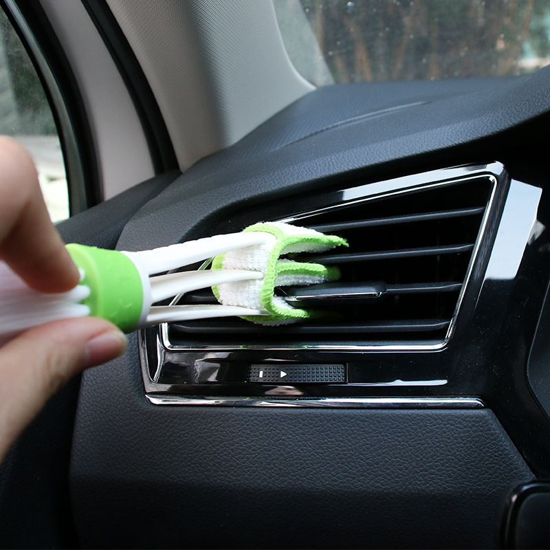 Car Styling Tools Cleaning Brush <font><b>Accessories</b></font> For <font><b>VW</b></font> <font><b>Golf</b></font> 4 <font><b>5</b></font> 7 6 Passat B5 B6 B7 Touareg Jetta Touran Bora Tiguan Caddy CC <font><b>GTI</b></font> image