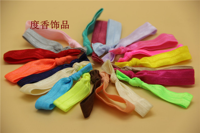 Crease Ribbon Hair Ties No Damage or Tug Creaseless Elastic Ponytail Holders  - Hairbands Hair Accessories a7be872cb00