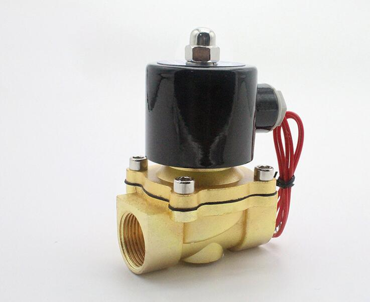 Free Shipping 1/4,3/8,1/2,3/4,1,2, AC220V,DC12V/24V Electric Solenoid Valve Pneumatic Valve for Water Oil Air Gas