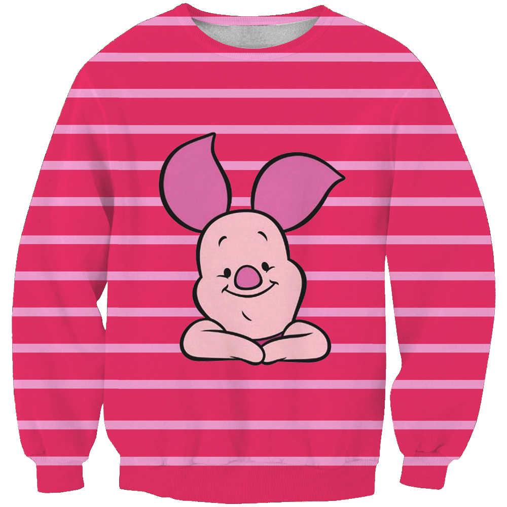 Новые медовый медведь модные толстовки с капюшоном унисекс Толстовка 3d принт простой повседневное белый relaxtion негабаритных одежда беспла