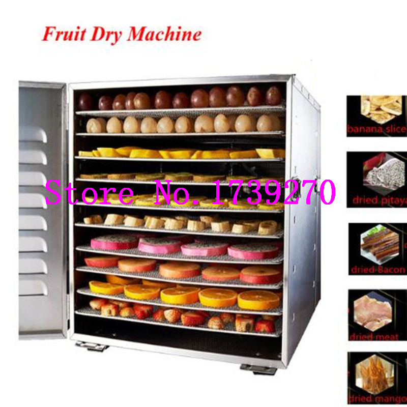 new arrival 304 stainless steel  food dehydrator machine ,Temperature control fruit dryer with visual  door