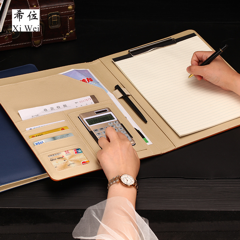Folder Multifunctional A4 Customized Paper Stationery Manager On Single Business Board