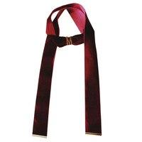 Letra m colar choker do vintage longo de flanela grande riband cadeia pescoço kolye colar roupas e acessórios de moda jóias