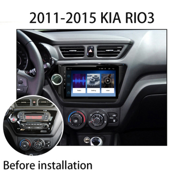 4G+64G 2din Android 9 2din car radio gps navigation multimedia player for Kia RIO 3 4 Rio 2010 2011 2012 2013 2014 2015-2018 GPS