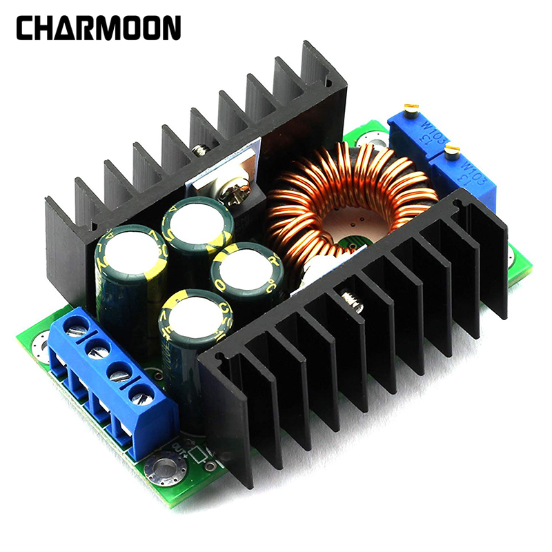 DC-DC 300W 9A Step Down Buck Converter 5-40V To 1.2-35V 12A Step-down Power Module LED Driver For Arduino