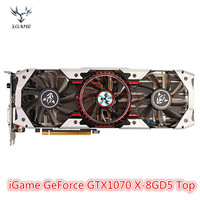 Colorful iGame GeForce GTX1070 X 8GD5 Top Gaming Graphic Card 8GB GDDR5 256bit Computer Hardware With Cooler Fan