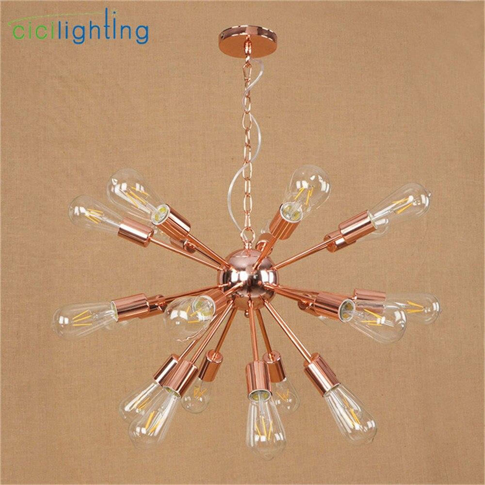 Hoge Kwaliteit Vergulde Kroonluchter Moderne Boomtak Spider Ketting lustre Kroonluchters 9/12/15/18/21 licht Art decor opknoping lamp - 2