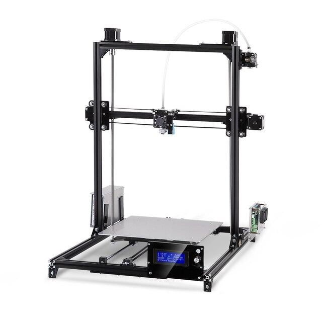 Flsun I3 3d Printer Auto Leveling  Large Printing Size 300x300x420mm DIY 3D Printer Kit Heated Bed 2 Rolls Filament SD card