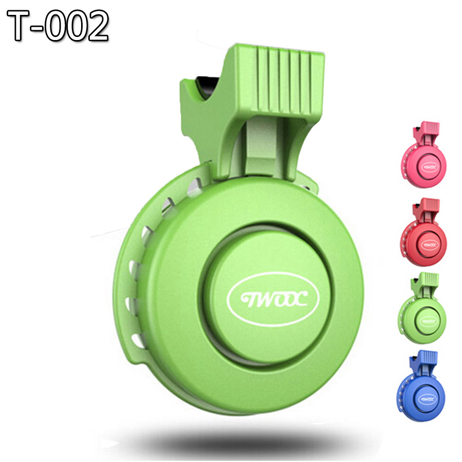 Bicycle Bell Electric Horn Alarm Remote Control Loud Sound Ring MTB Road Bike Cycling Safety Handlebar 120 dB Anti-theft Horns