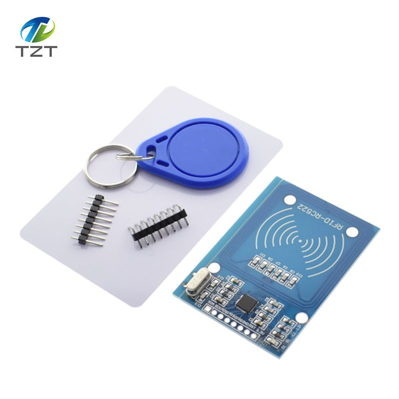 20pcs MFRC 522 RC522 RFID RF IC card sensor module to send S50 Fudan card keychain