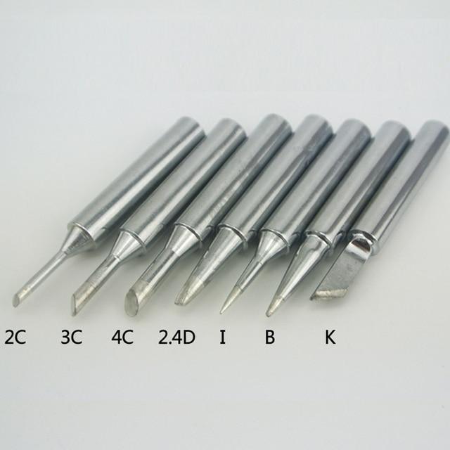 1 قطعة خالية من الرصاص 907 لحام تلميح لحام رئيس الأساسية 60 واط تلميح كم سبيكة لحام نصائح إصلاح ل NO.907T 905E MT 3927 اكسسوارات