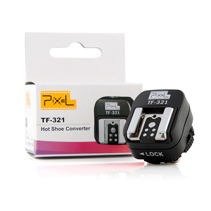 Image 5 - PIXEL TF 321 TTL Hot Shoe Converter To PC Sync Socket Convert Adapter For Canon