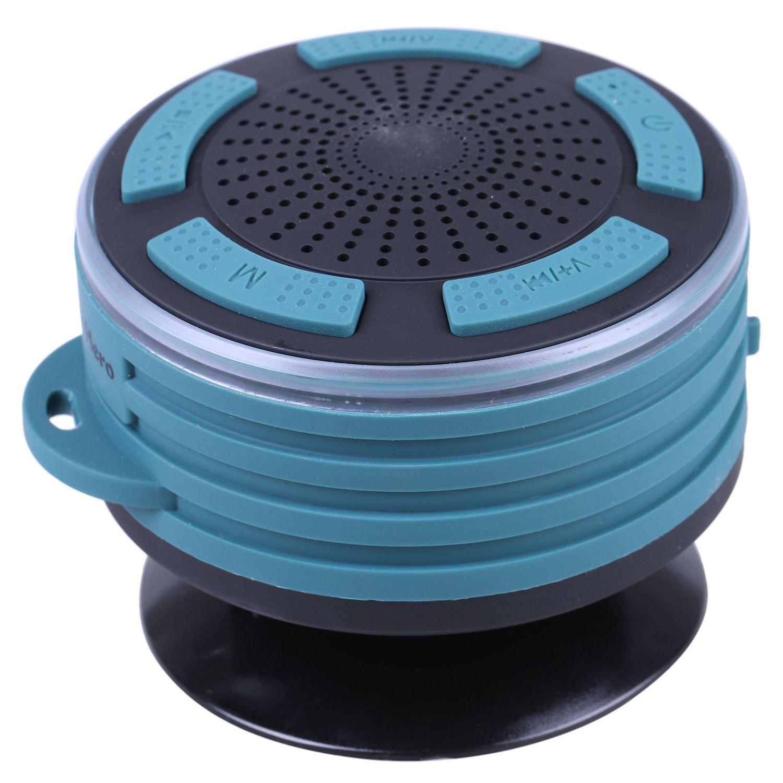 Wireless waterpoof bluetooth speaker shower radios with - Bluetooth speaker bathroom light ...