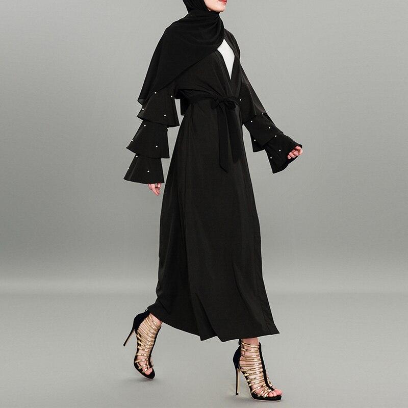 Vente 2018 Pour Abayas L Kimono Turc Abaya Kaftan Femmes Eau Dubaï 354qARjL