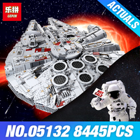 New Lepin 05132 Star Series Wars Ultimate Collector S Model 7541PCS Destroyer Building Blocks DIY Bricks
