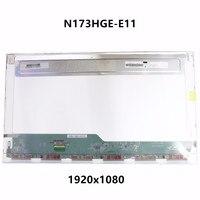 New Genuine 17 3 LCD LED Screen Display Panel Matrix N173HGE E11 N173HGE EA1 Fit B173HTN01
