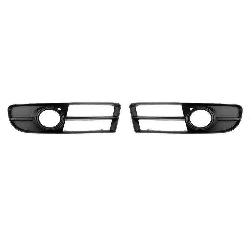 VODOOL ABS Car Racing Grill Front Lower Side Bumper Grille Fog Light Cover for Audi A4 B7 2005-2008 Car Left/Right Racing Grills auldey 88010 abs racing car kit
