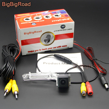 BigBigRoad Car Rear View Backup Camera For Porsche 964 993 996 Carrera 911 986 Boxster Turbo GT2 GT3 MK1 1989-1998