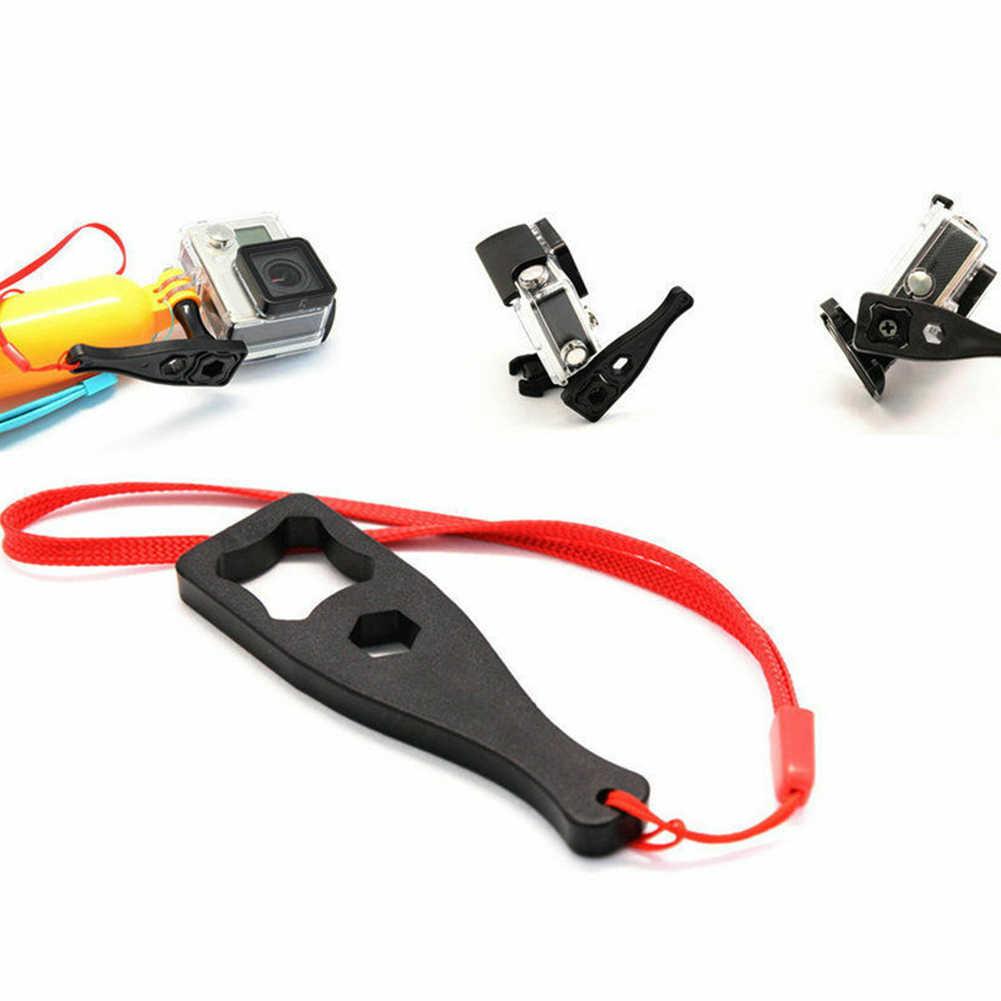 Universal ทนทานอุปกรณ์เสริมขนาดเล็ก Knob Nut Screw เครื่องมือแบบพกพากล้องเชือกกระชับน้ำหนักเบาประแจคลายสำหรับ GoPro