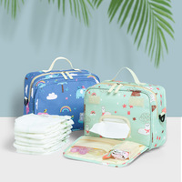 Fashion Wet Bag Waterproof Diaper Bag Washable Cloth Diaper Baby Bag Reusable Wet Bags Multifunction Organizer For Mom Stuff
