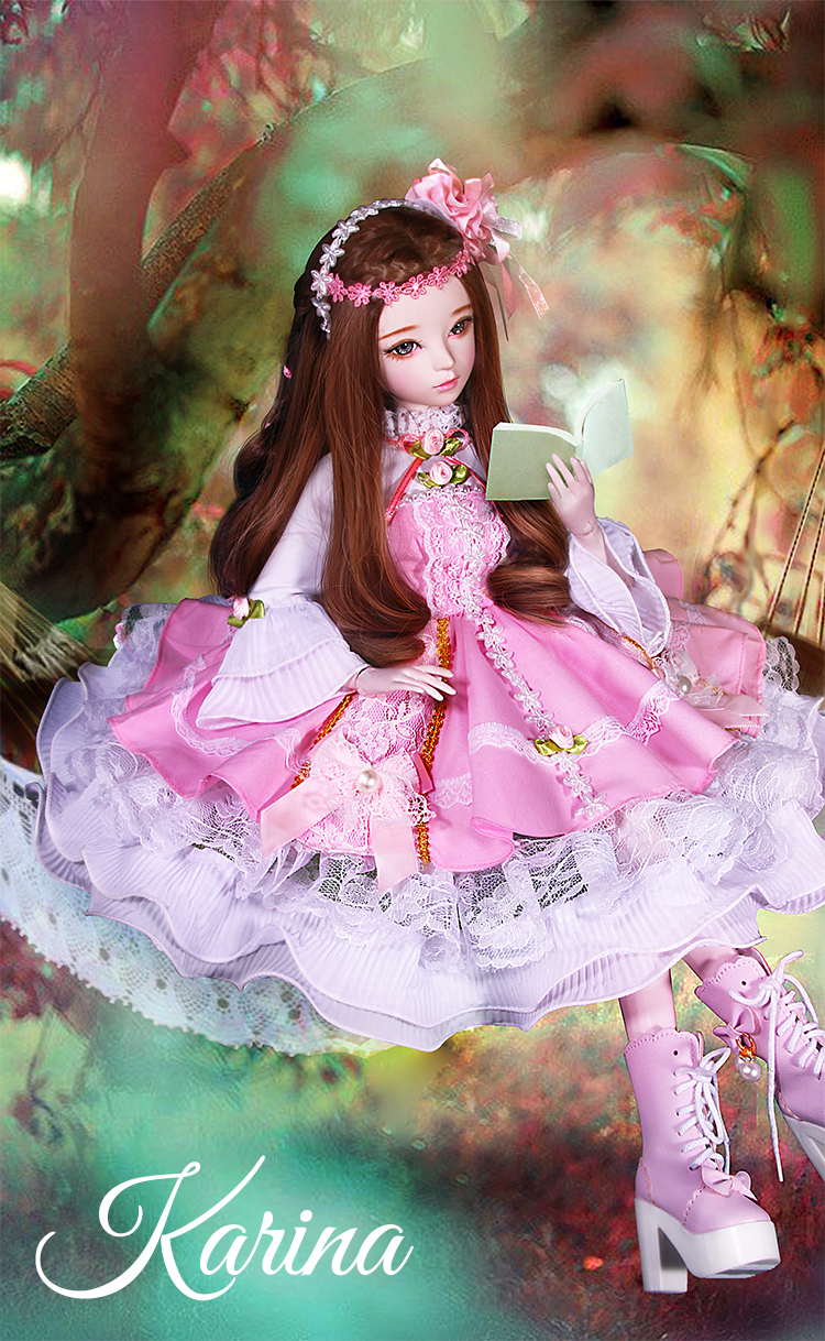 Girl Jointed Doll Handmade Female Dolls