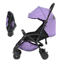 Luxury Travel System Baby Stroller High Landscape Baby Carriage Folding Pram Ultra light Portable on the Airplane Bebek Arabas