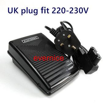 220V Uk Plug Foot Controller, Pedal For Bernina 700 800 Models Sewing Machine