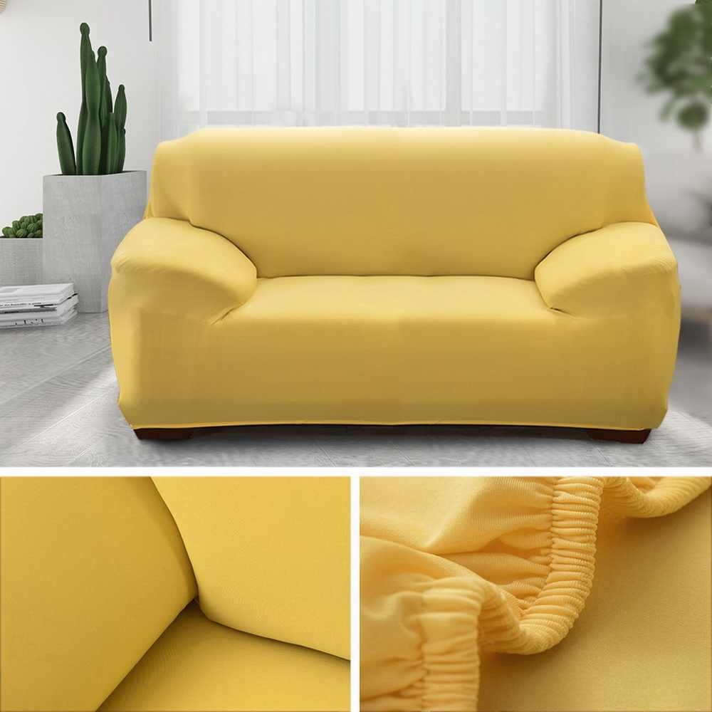 1//2//3//4 Seater Stretch Chair Sofa Cover Slipcover Couch Loose Covers Elastic NEW