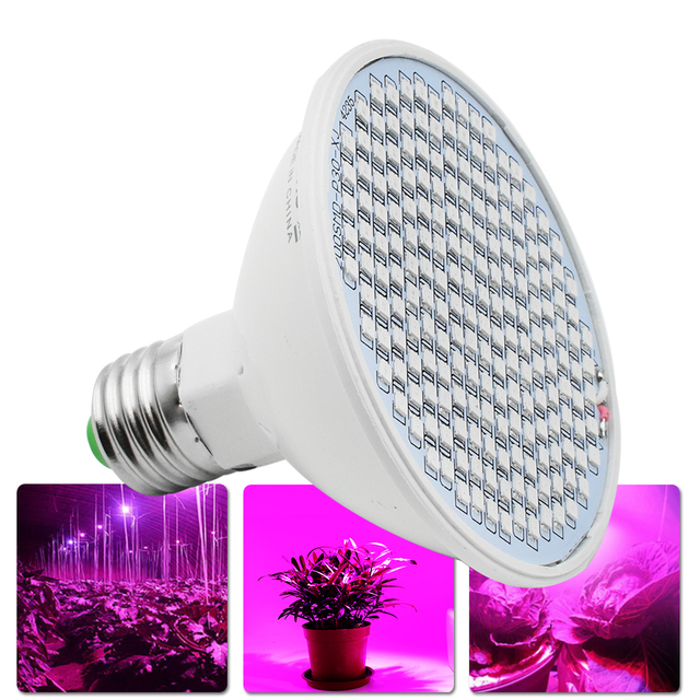 High Power E27 85 265V Plant LED SMD2835 Grow Light Wide Spectrum ...