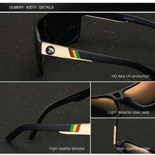 DUBERY  Men's Polarized  Sunglasses Aviation Driving Sun Glasses Men Women  Sport  Fishing  Luxury Brand Designer Oculos UV400