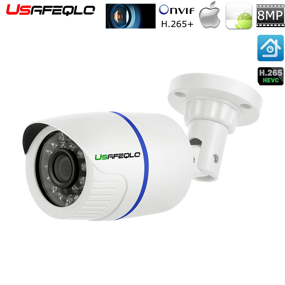 H 265 H 264 HD 4MP 5MP 8MP IP Camera Onvif 8MP Outdoor Bullet Video Network