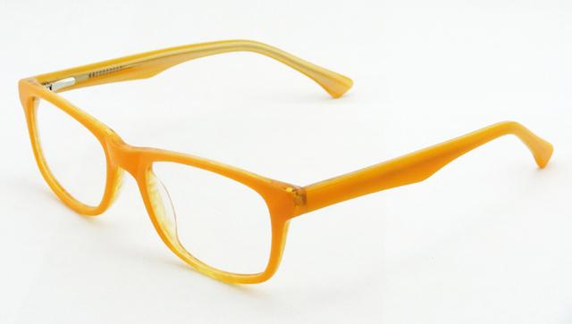 Moda Óculos de Acetato de Armação de Óculos de Miopia Moldura de Espelho Simples Óculos Para As Mulheres 2587