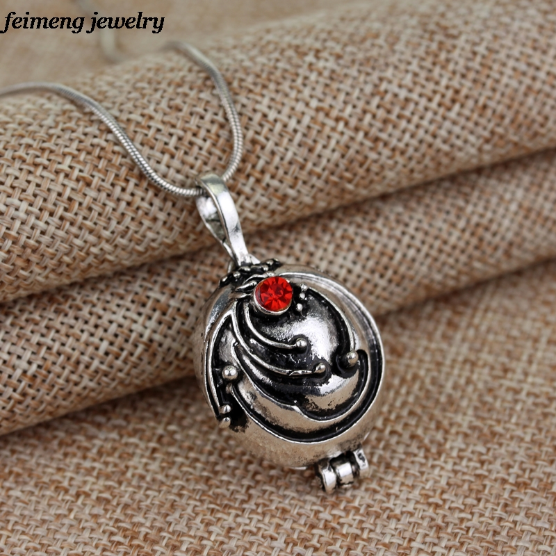 Freeshipping wholesale  a lot The Vampire Diaries Elena vervain Necklace Locket Pendant two colors locket